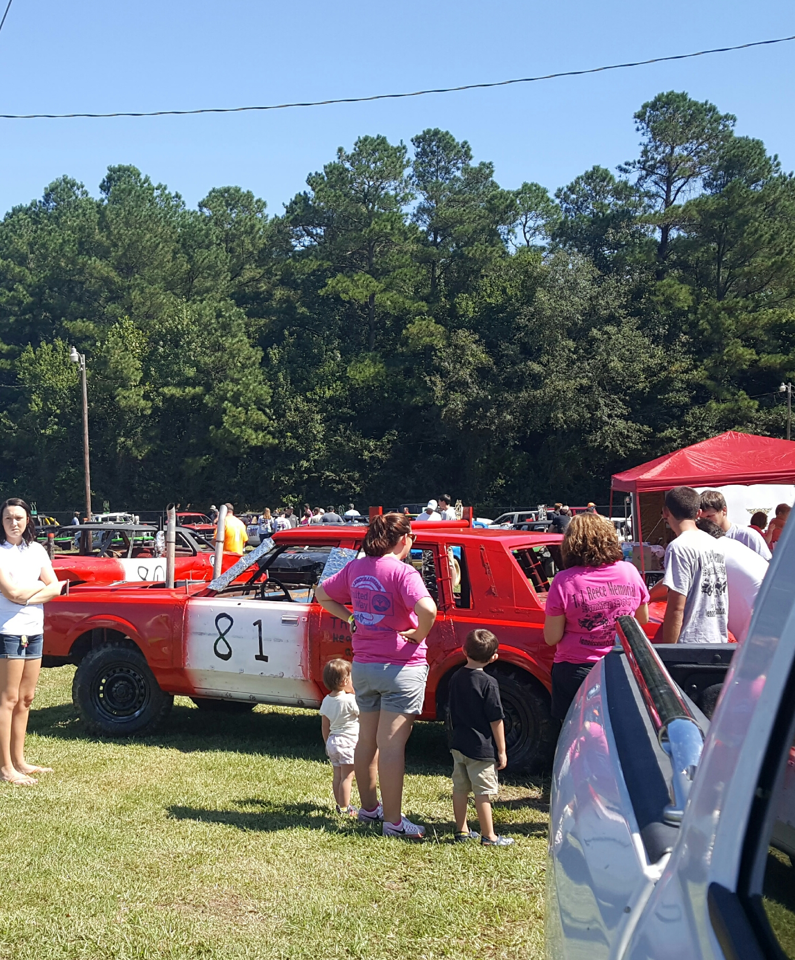 demolition derby – lenoir county agricultural fair